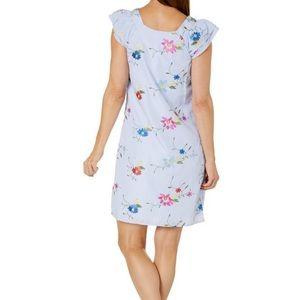 Rabbit Rabbit Rabbit Embroidered Floral Dress 269